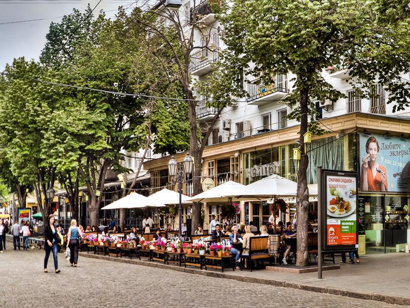 odesa-Deribassovskaya Street